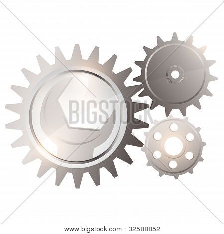 Gear System With Spanner