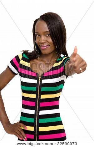 Thumbs Up Female