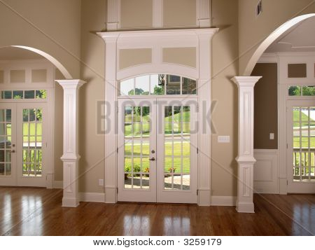 Luxury Double Arched Entrance