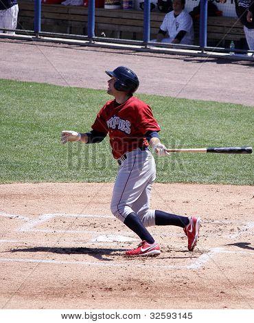 Lehigh Valley Ironpigs batter Cody Overbeck