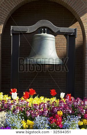 Memorial Bell In Victoria Canada
