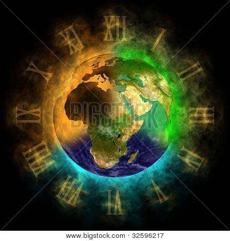 2012 Transformation des Bewusstseins auf der Erde Europa, Asien, Afrika