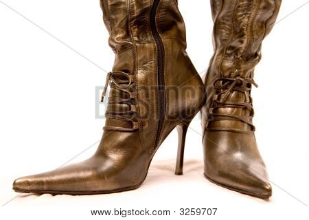 Womens Boots In Vintage Look