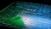 picture of pnp  - Printed circuit board close up - JPG