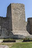 Ruins Of Fortress At The Coast Of The Danube River In Town Of Smederevo, Serbia poster