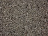 Photo Of Wet Sand. Background Texture Of Wet Sand. poster