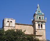 Old Historic Church On Mallorca poster