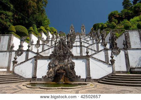 Bom Jesus Do Monte, Braga, Portugal