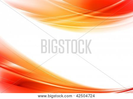 Concept wavy design. Eps 10 vector background. Gradient mesh included