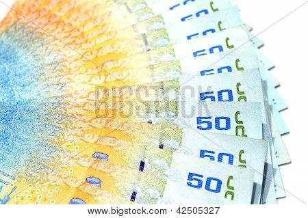 Lots Of Thai Banknote Used As A Background.