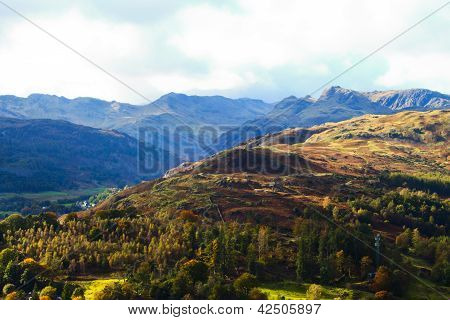 Montains of the Lake District