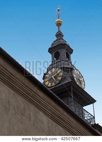 Jewish Town Hall Clock