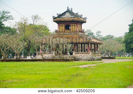 Imperial City (Citadel) in Hue, Vietnam