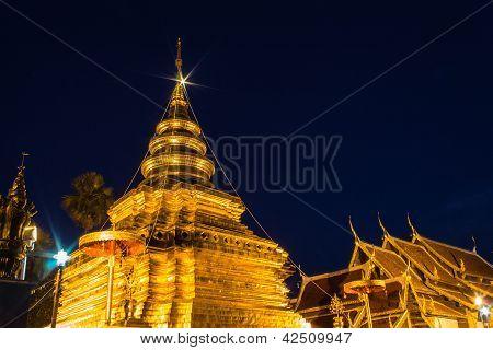 Wat Pra That Chomthong Vora Vihan, Chedi In Thailand