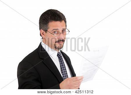 Business Man Banker