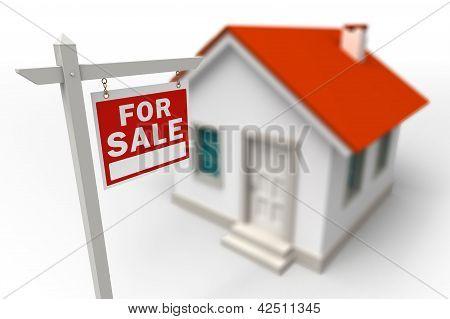 Casa para la venta inmobiliaria rojo