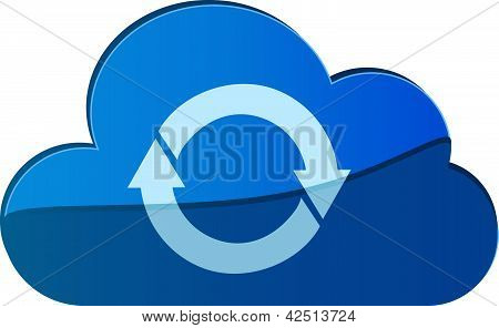 Cloud Sync Icon/logo.