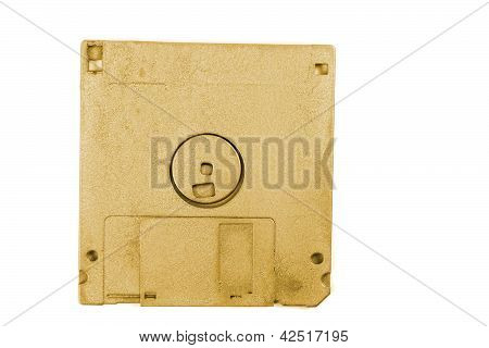 Golden Floppy Disk