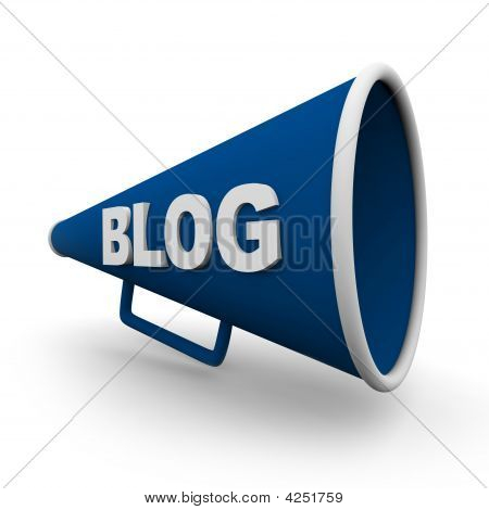 Blog Bullhorn - isoliert