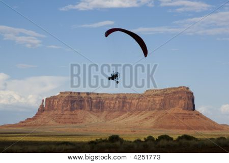 Over Monument Valley