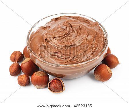Hazelnut Cream With Hazelnut