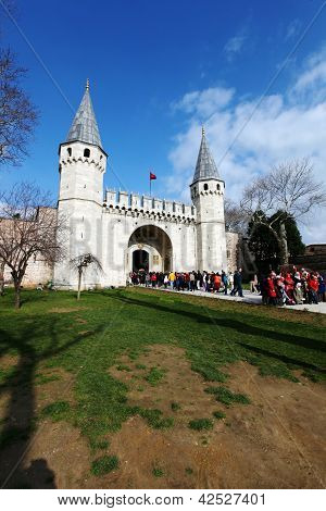 Gate of Topkapi Palace