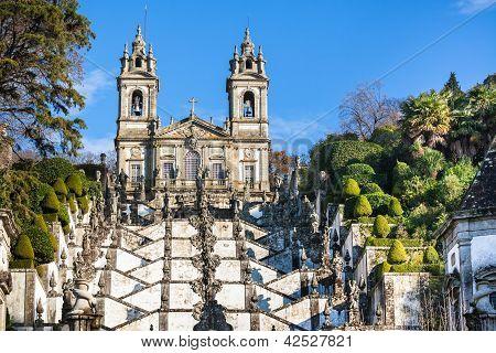 Bom Jesus Do Monte Monastery, Braga, Portugal