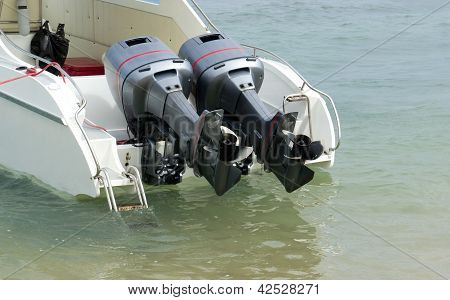 Engine Of Boat