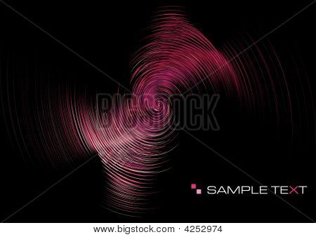 Pink Ripple Background