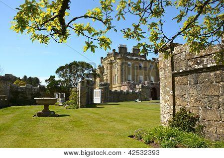 Culzean Castle, Ayrshire on a sunny day