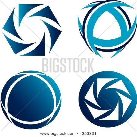 Set Of Abstarct Icons