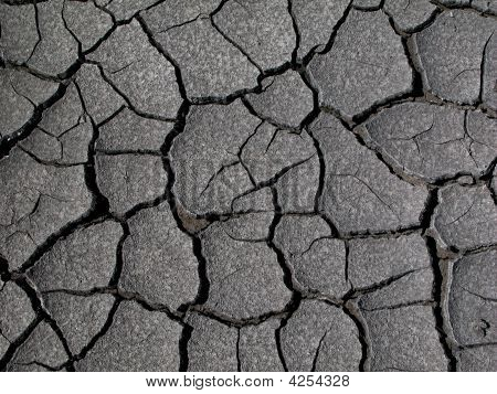 Dry Coal Mud