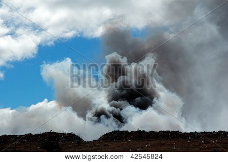 Billowing Smoke