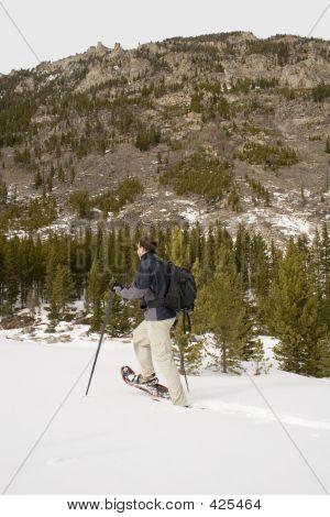 Snowshoeing - Montana
