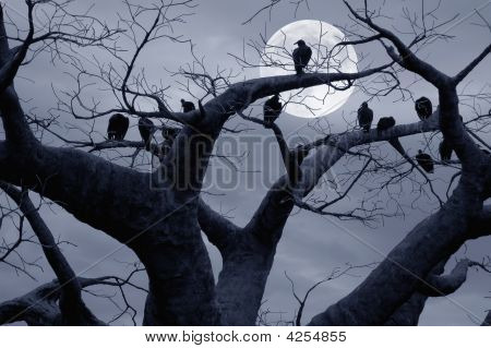 Árbol Spooky