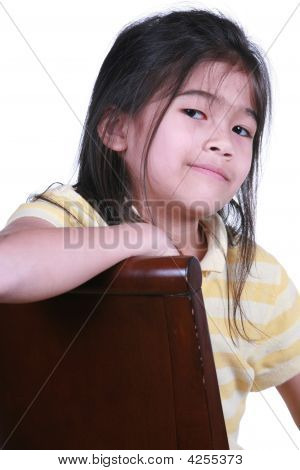 Beautiful Little Girl Smiling