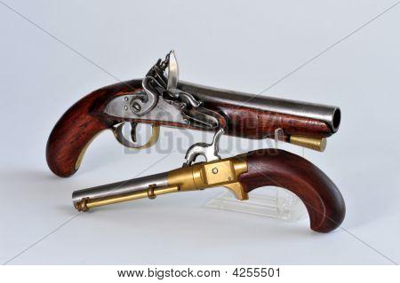 19Th Century Pistol'S