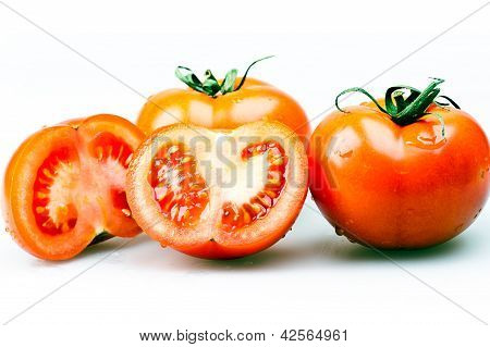 group tomatoes