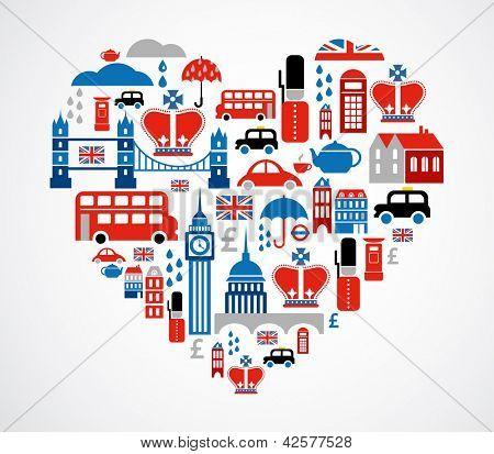 Corazón de Londres