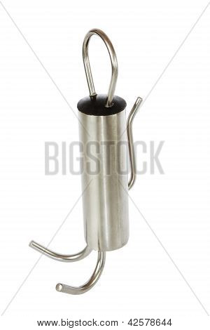Anchor, Cargo, Equipment For Spearfishing. On A White Background.