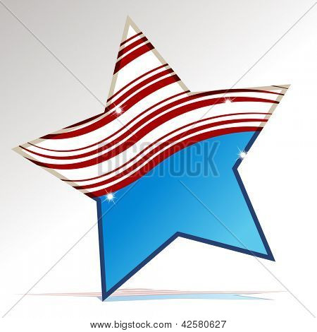 An image of a patriotic star.