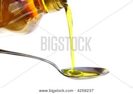 Vierta aceite