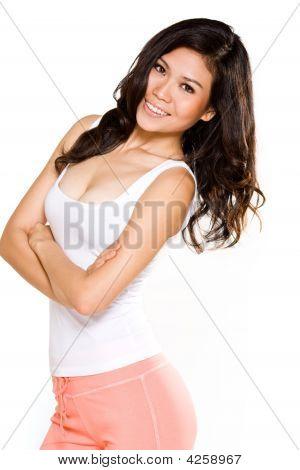 Happy Smile Asian Woman