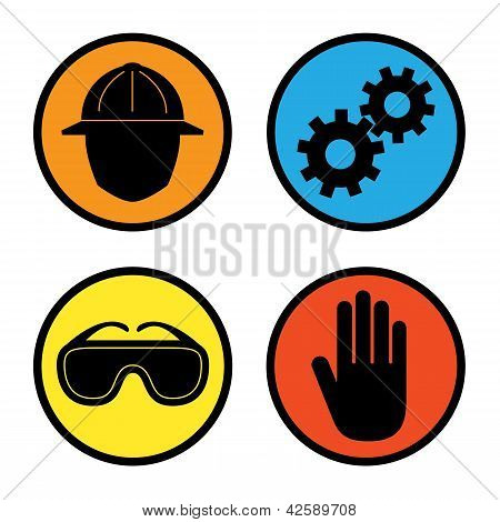 Factory Safety Icons