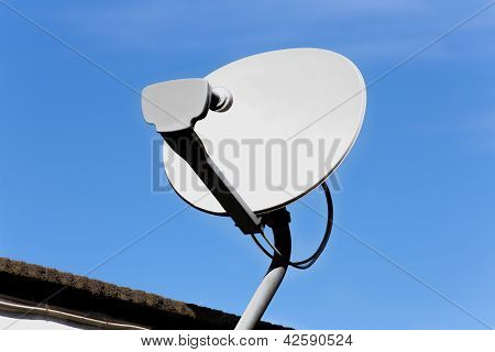Roof Mounted Satellite Dish