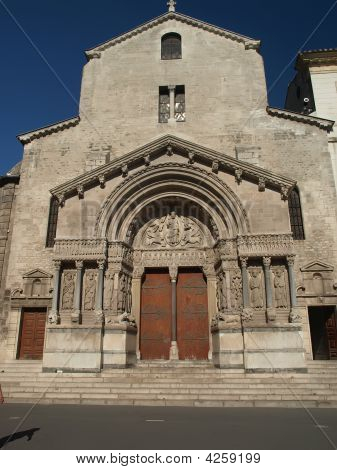 Arles - The Church Of St. Trophime
