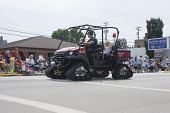 Kawasaki Mule Utv With Tracks Fire Department Vehicle
