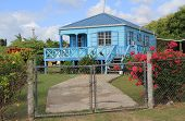 picture of west indies  - Typical nice home in Antigua Barbuda in the Caribbean - JPG