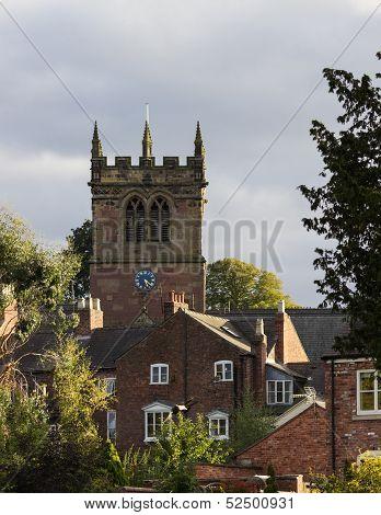 Ellesmere Shropshire Parish Church Tower