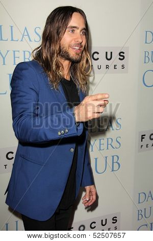 LOS ANGELES - OCT 17:  Jared Leto at the